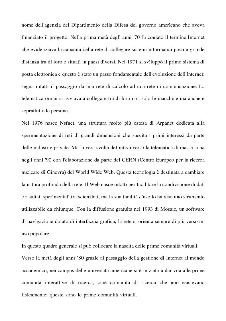 Anteprima della tesi: Real Tv e forum on line, Pagina 15