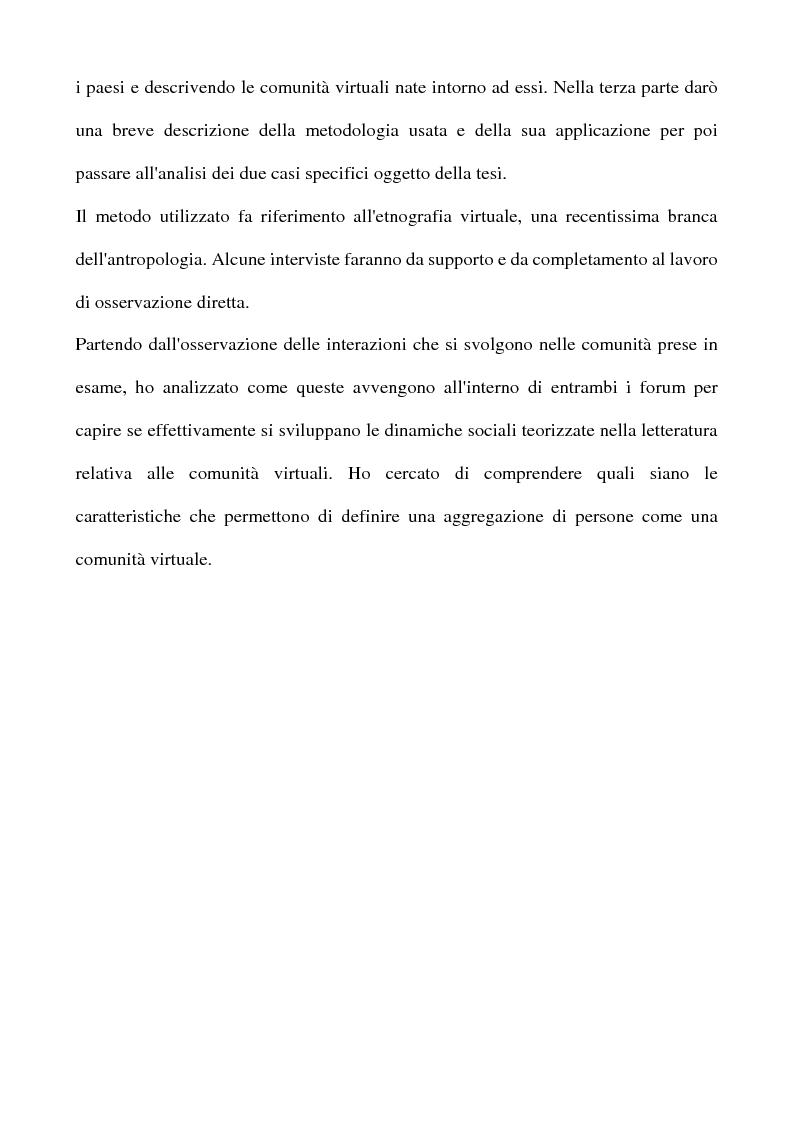 Anteprima della tesi: Real Tv e forum on line, Pagina 6