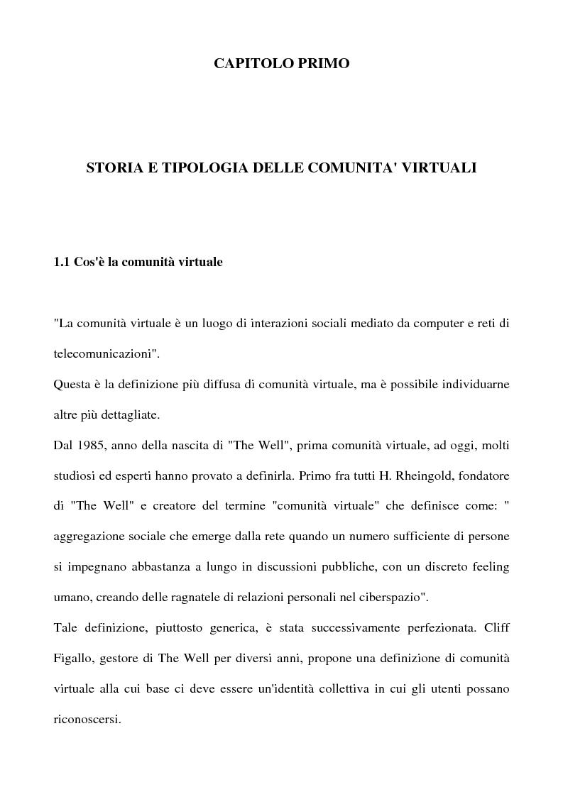 Anteprima della tesi: Real Tv e forum on line, Pagina 7