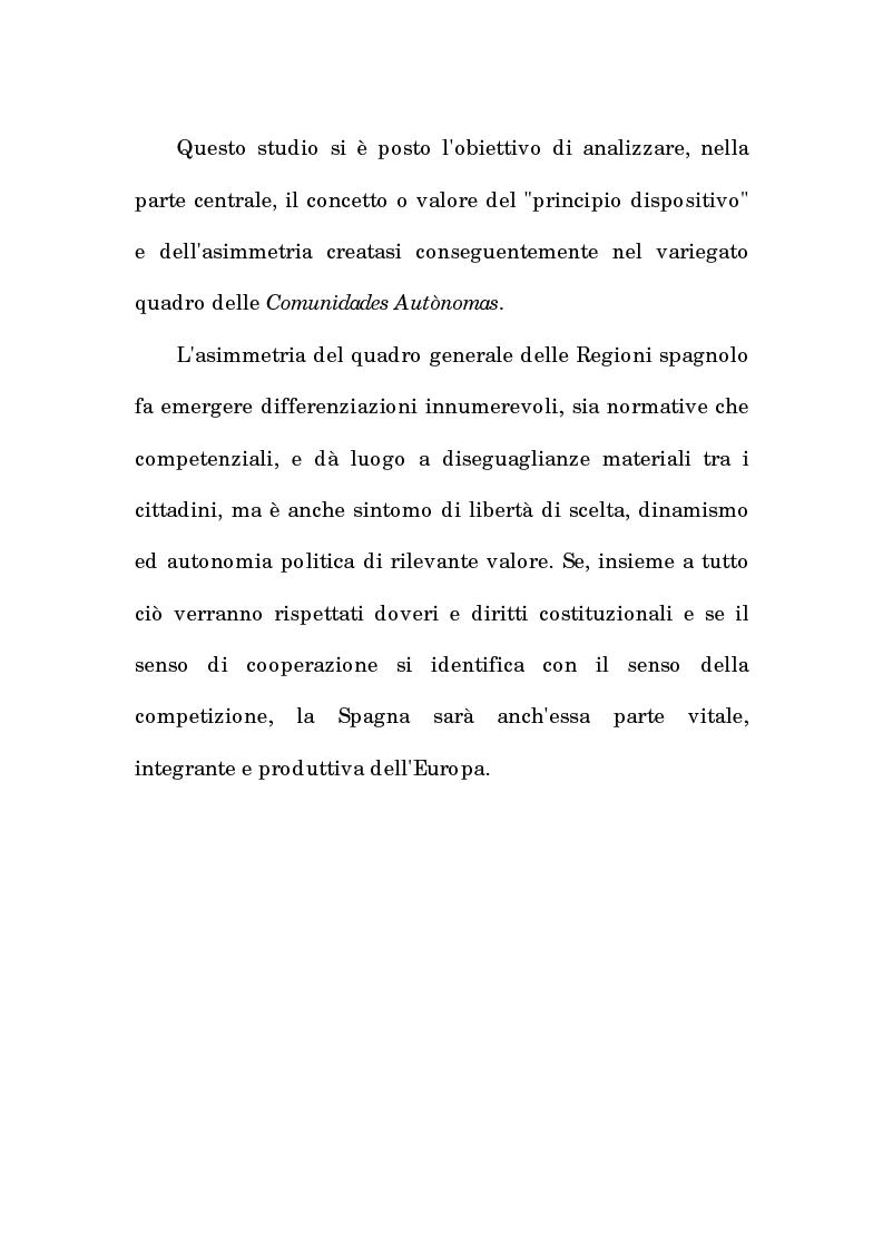 Anteprima della tesi: Asimmetria e flessibilità nel sistema regionale spagnolo, Pagina 3