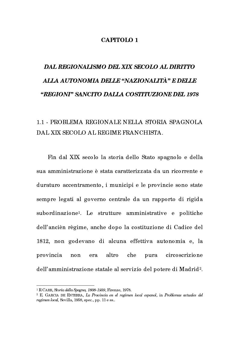 Anteprima della tesi: Asimmetria e flessibilità nel sistema regionale spagnolo, Pagina 4