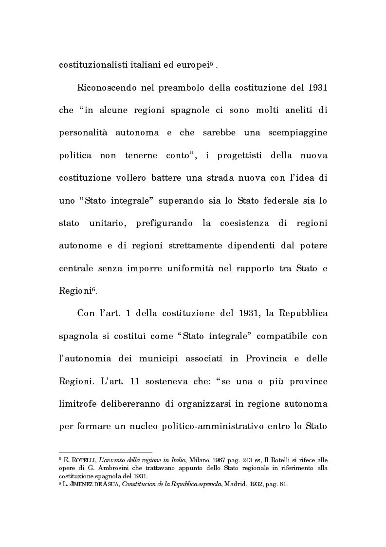Anteprima della tesi: Asimmetria e flessibilità nel sistema regionale spagnolo, Pagina 6