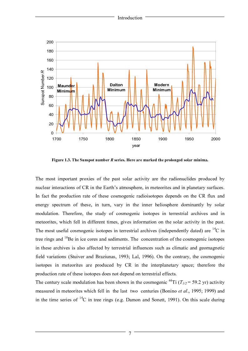 Anteprima della tesi: Influence of solar activity variations on the interplanetary space, Pagina 5