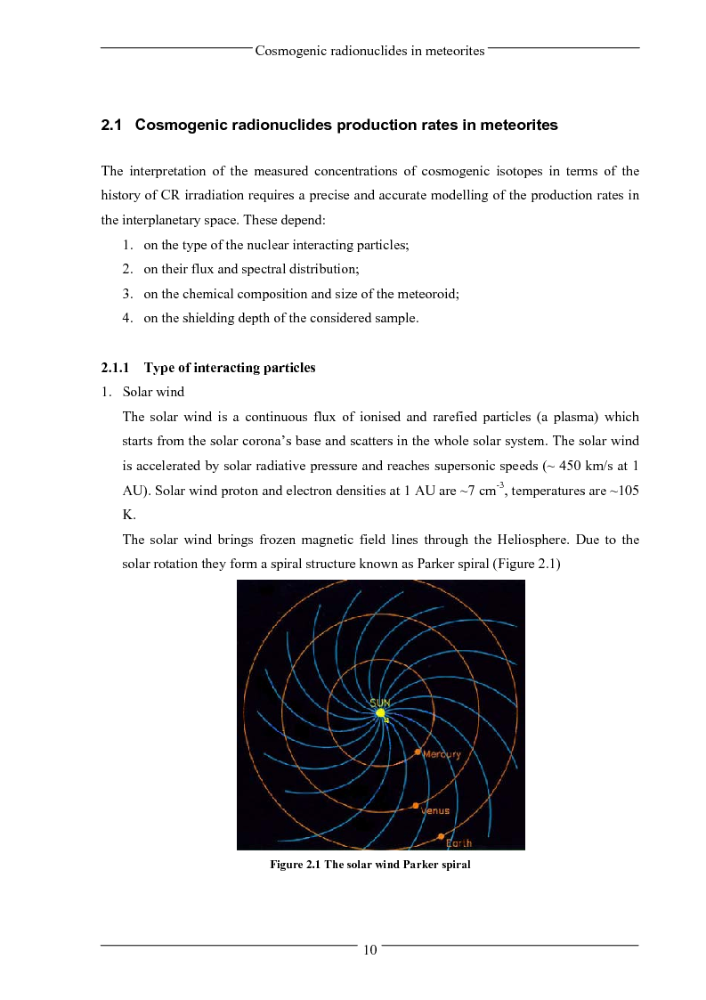 Anteprima della tesi: Influence of solar activity variations on the interplanetary space, Pagina 8