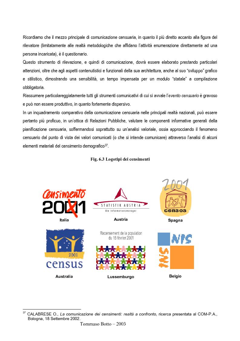 Anteprima della tesi: Le relazioni pubbliche come funzione di census management: analisi comparativa di quindici esperienze censuarie, Pagina 17