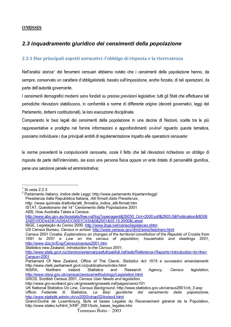 Anteprima della tesi: Le relazioni pubbliche come funzione di census management: analisi comparativa di quindici esperienze censuarie, Pagina 5