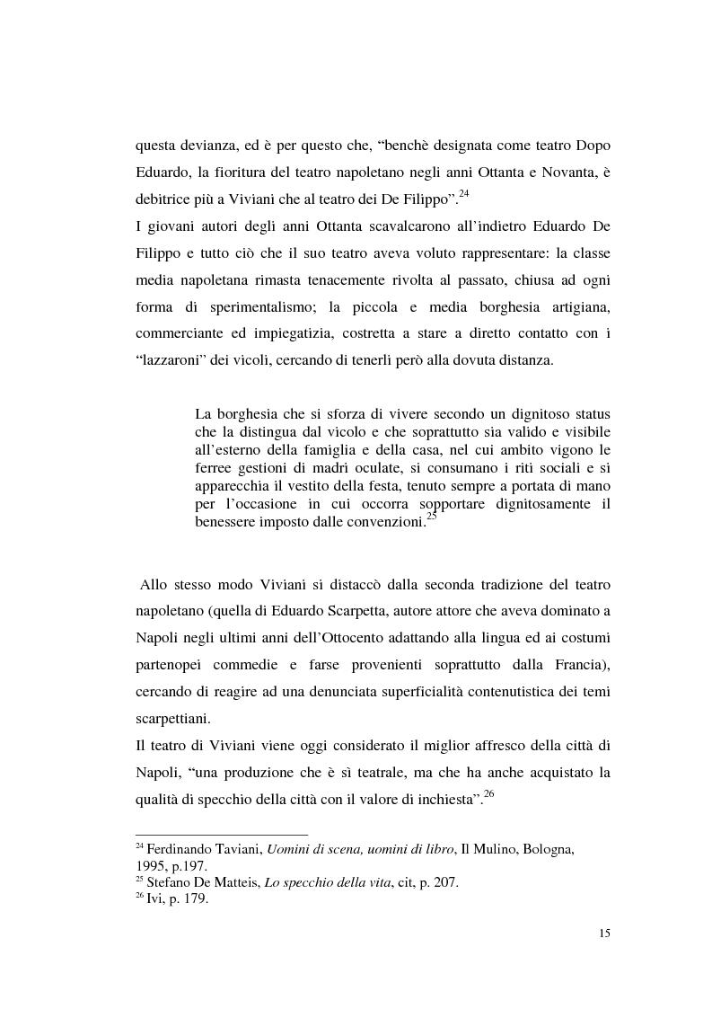 Anteprima della tesi: Il teatro di Annibale Ruccello: mass media come nuovi attori, Pagina 11