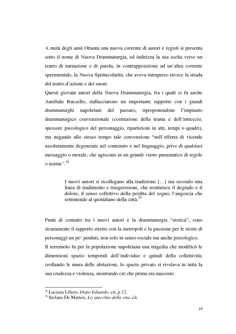 Anteprima della tesi: Il teatro di Annibale Ruccello: mass media come nuovi attori, Pagina 15