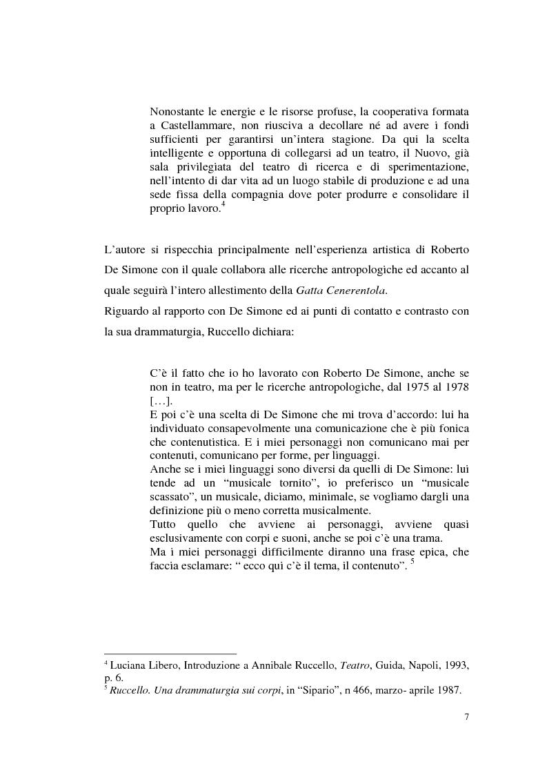 Anteprima della tesi: Il teatro di Annibale Ruccello: mass media come nuovi attori, Pagina 3