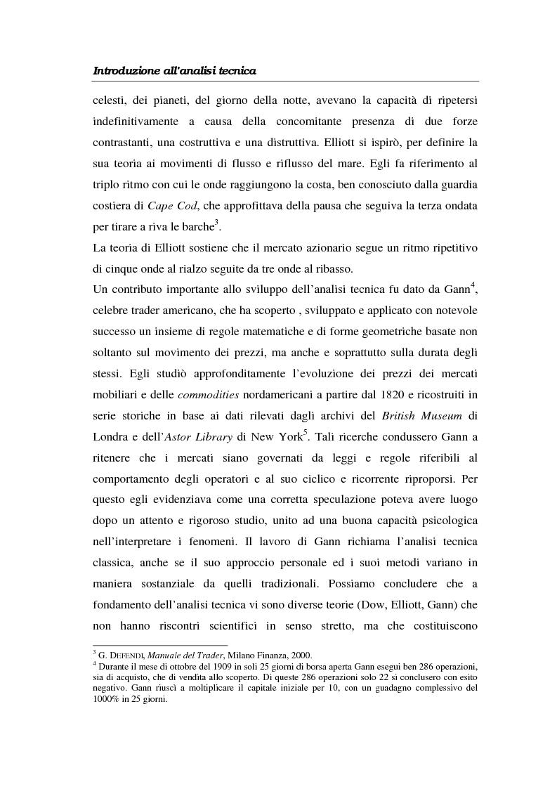 Anteprima della tesi: L'analisi tecnica attraverso il trading system e il decision support system. Uno studio pratico di alcuni titoli azionari, Pagina 9