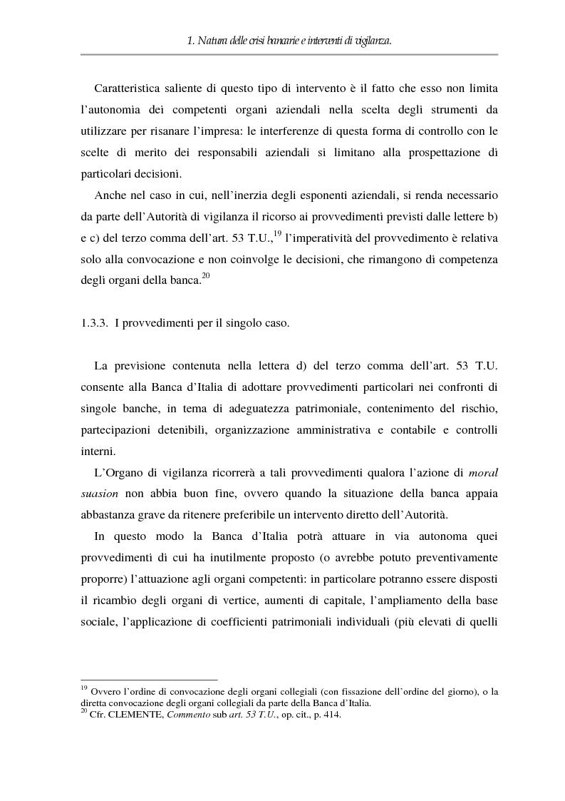 Anteprima della tesi: Crisi dell'impresa bancaria e autonomia della società, Pagina 11