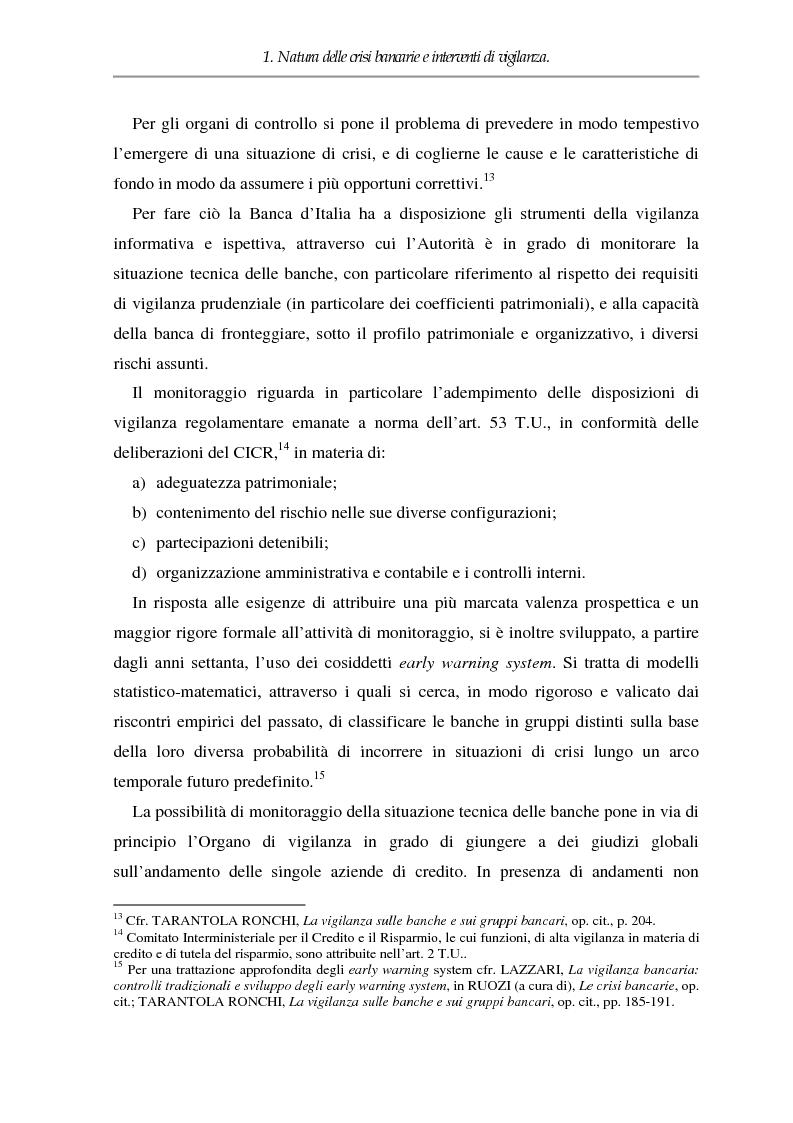 Anteprima della tesi: Crisi dell'impresa bancaria e autonomia della società, Pagina 9