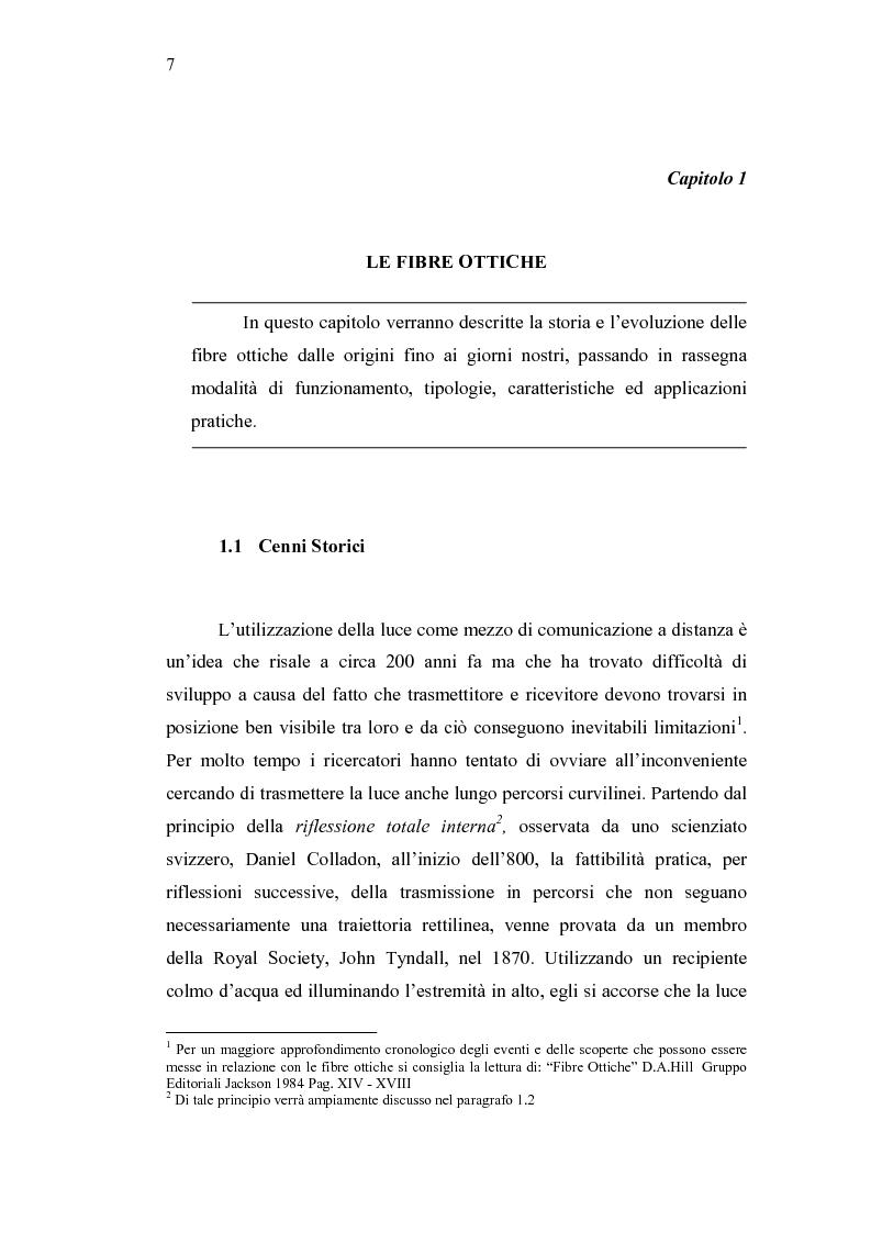 Anteprima della tesi: Analisi di bilancio in una società di telecomunicazioni: un caso operativo, Pagina 1