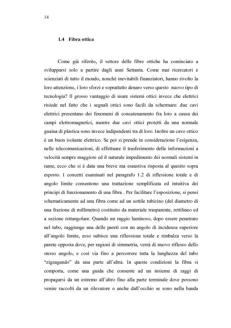 Anteprima della tesi: Analisi di bilancio in una società di telecomunicazioni: un caso operativo, Pagina 8