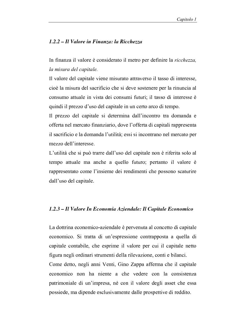 Anteprima della tesi: Creazione di valore e misure di performance basate sul profitto: il caso MBDA Italia spa, Pagina 12