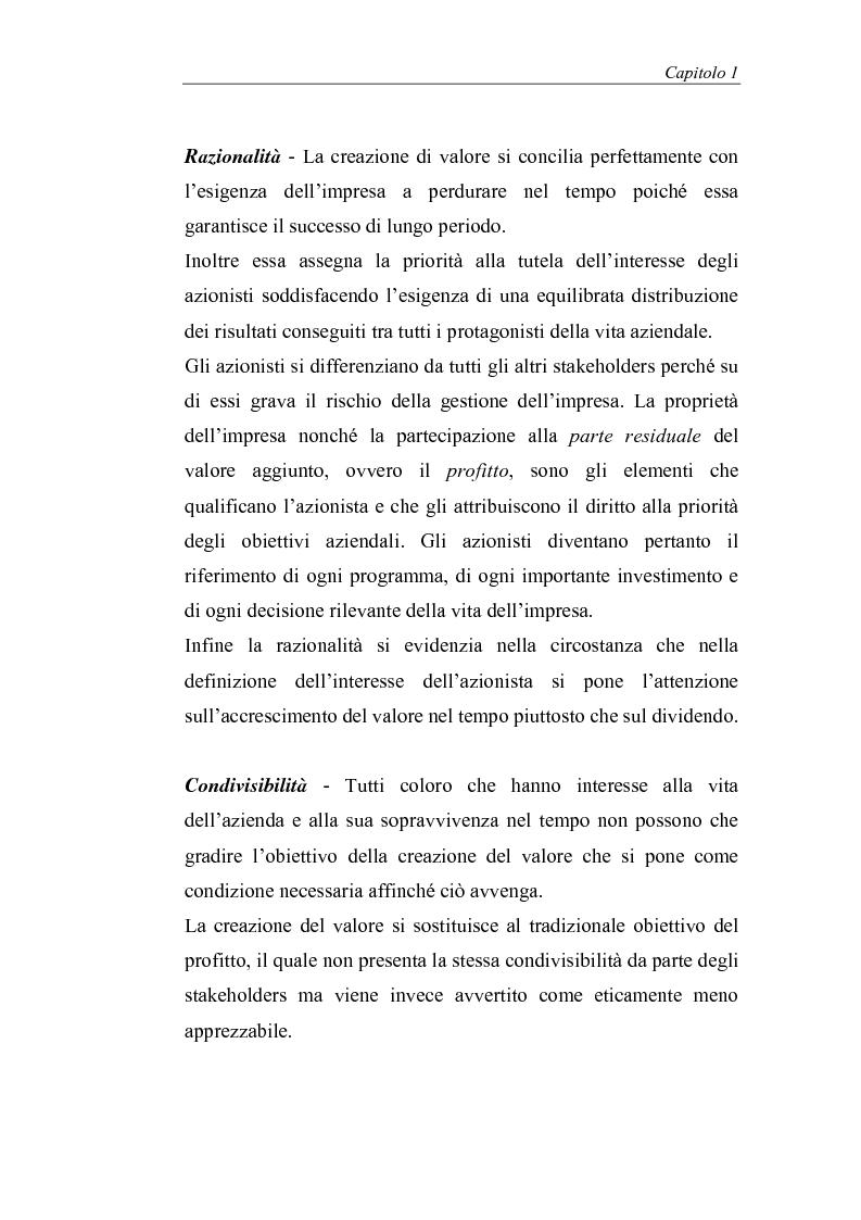 Anteprima della tesi: Creazione di valore e misure di performance basate sul profitto: il caso MBDA Italia spa, Pagina 14