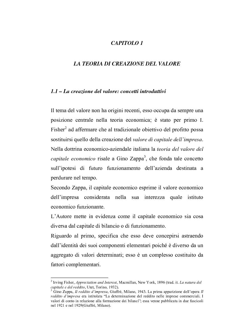 Anteprima della tesi: Creazione di valore e misure di performance basate sul profitto: il caso MBDA Italia spa, Pagina 5