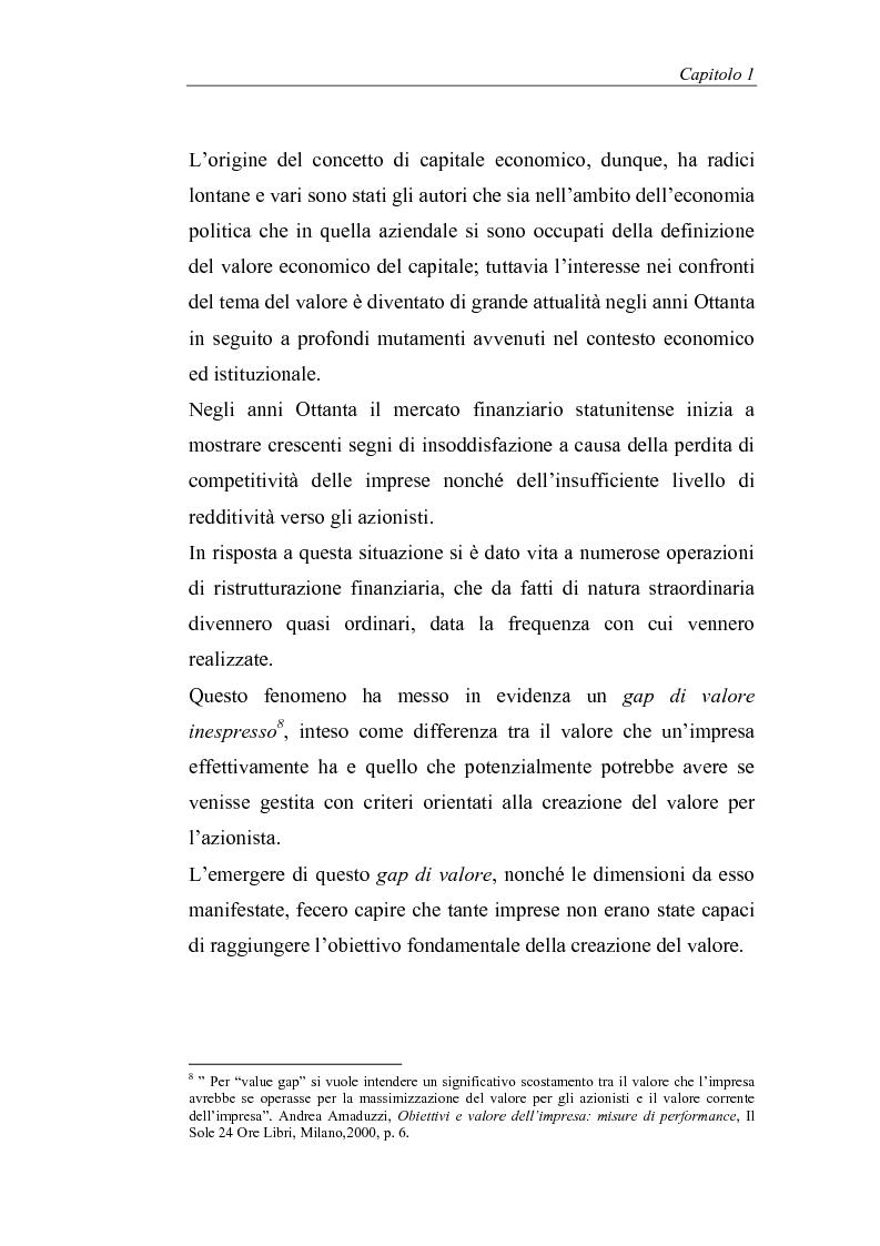 Anteprima della tesi: Creazione di valore e misure di performance basate sul profitto: il caso MBDA Italia spa, Pagina 7