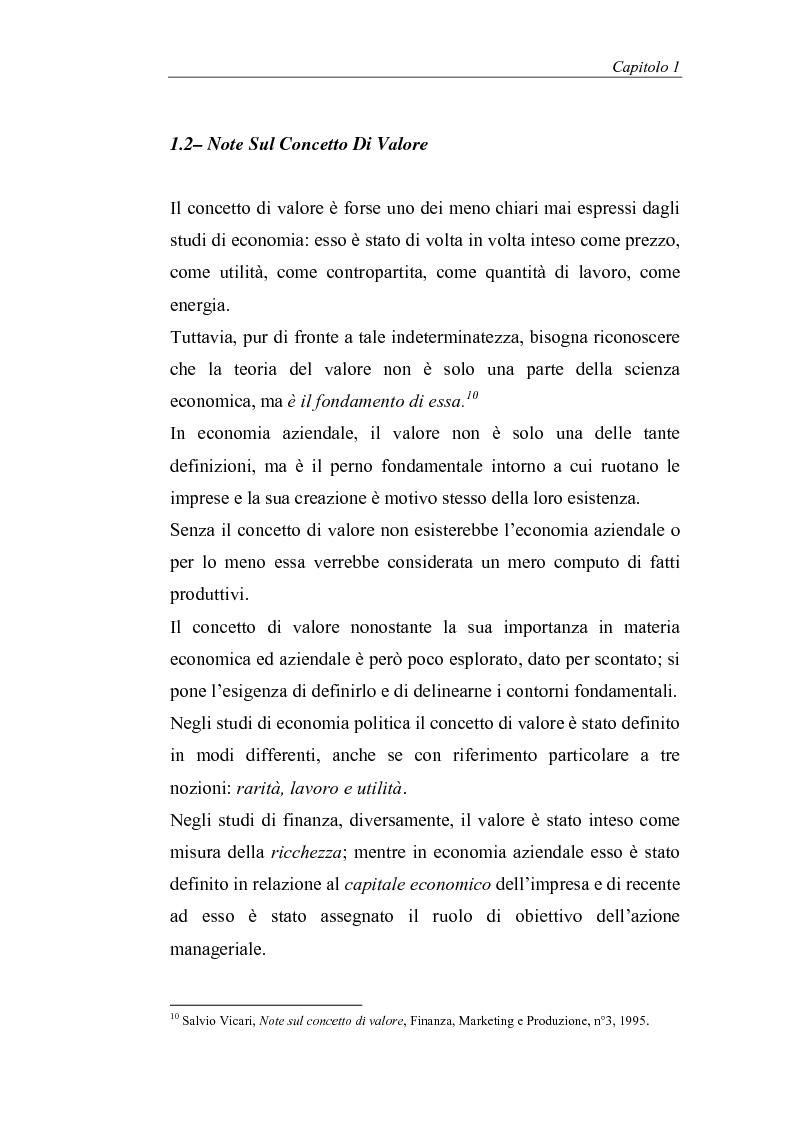 Anteprima della tesi: Creazione di valore e misure di performance basate sul profitto: il caso MBDA Italia spa, Pagina 9