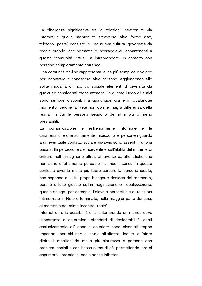 Anteprima della tesi: Psicopatologie delle condotte on-line. Aspetti clinici e psicopatologici correlati all'uso di Internet, Pagina 10