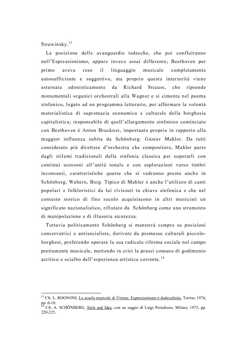 Anteprima della tesi: La pittura di Kandinsky e la musica di Schoenberg: due arti a confronto, Pagina 15