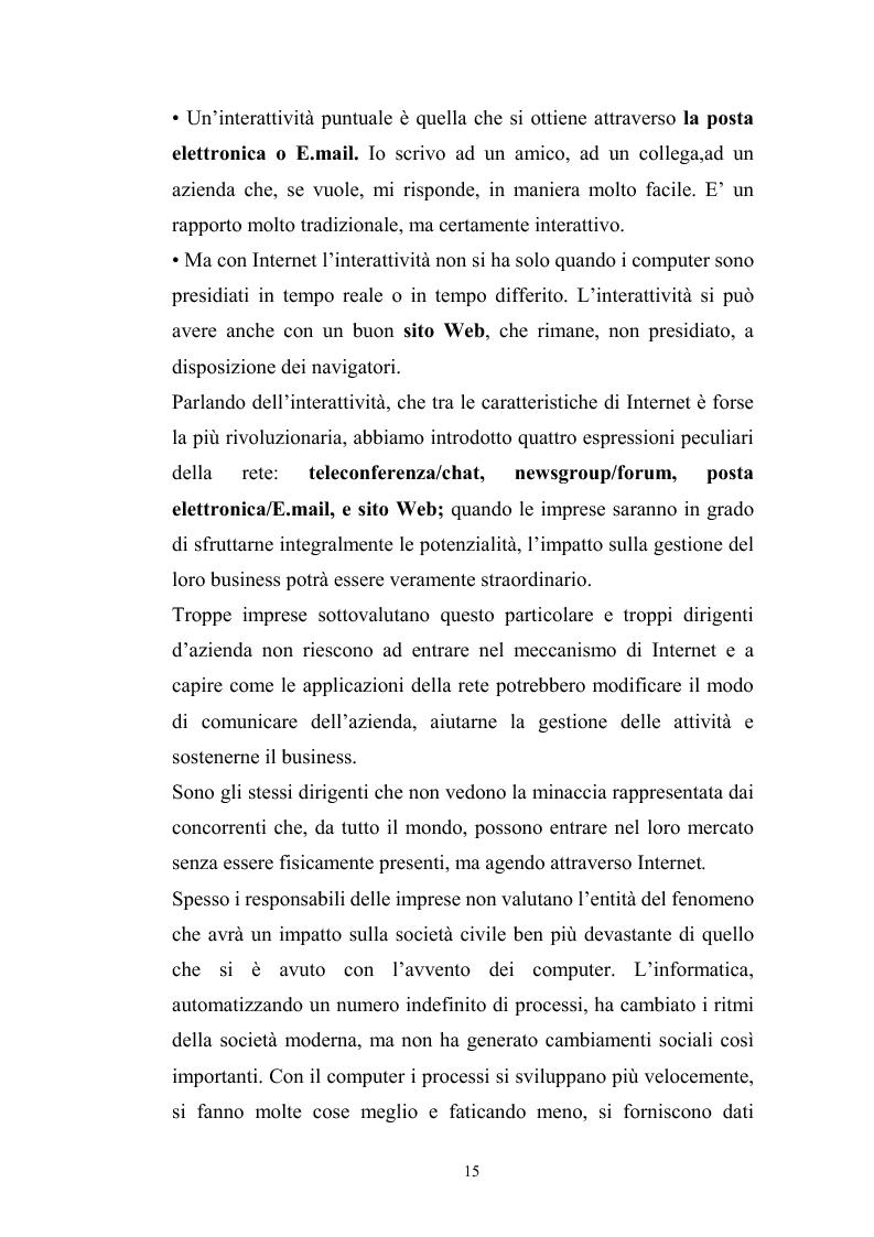Anteprima della tesi: Innovazione tecnologica: mutamento dei fabbisogni formativi e nuovi profili professionali, Pagina 11