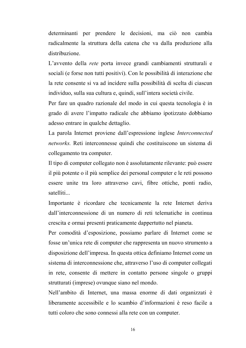 Anteprima della tesi: Innovazione tecnologica: mutamento dei fabbisogni formativi e nuovi profili professionali, Pagina 12