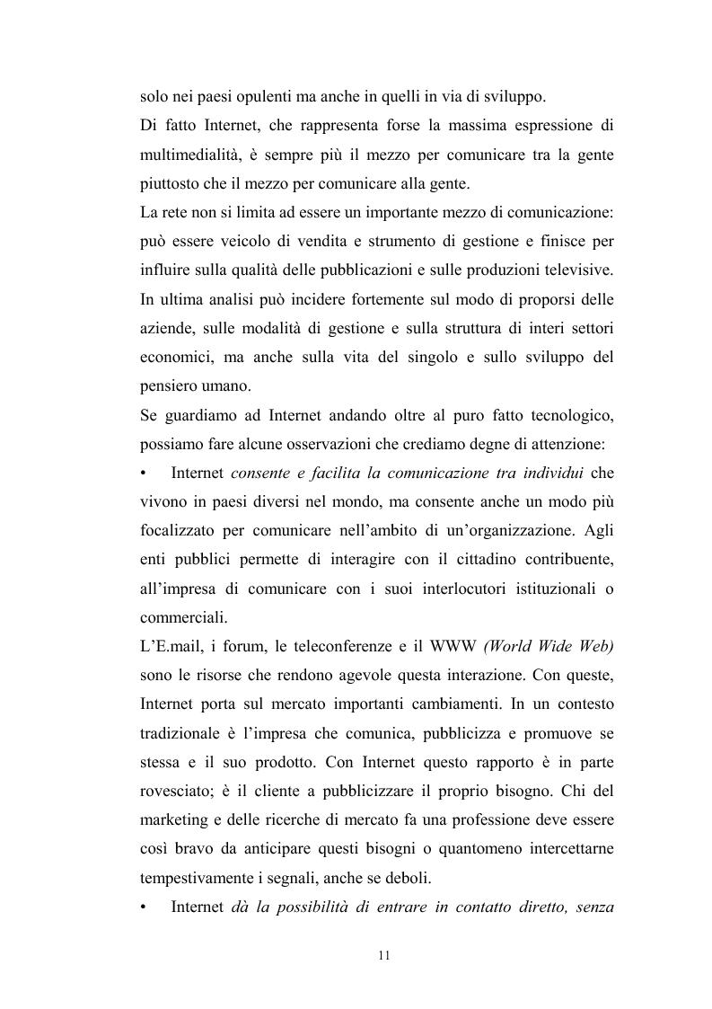 Anteprima della tesi: Innovazione tecnologica: mutamento dei fabbisogni formativi e nuovi profili professionali, Pagina 7