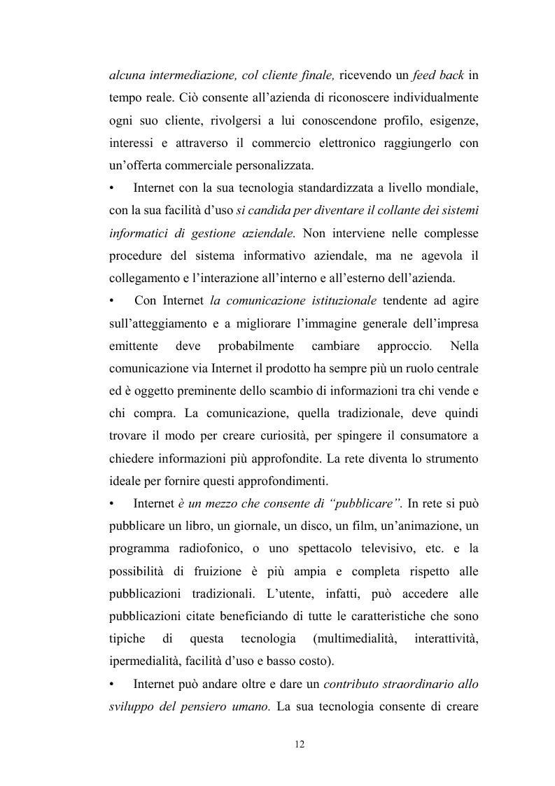 Anteprima della tesi: Innovazione tecnologica: mutamento dei fabbisogni formativi e nuovi profili professionali, Pagina 8