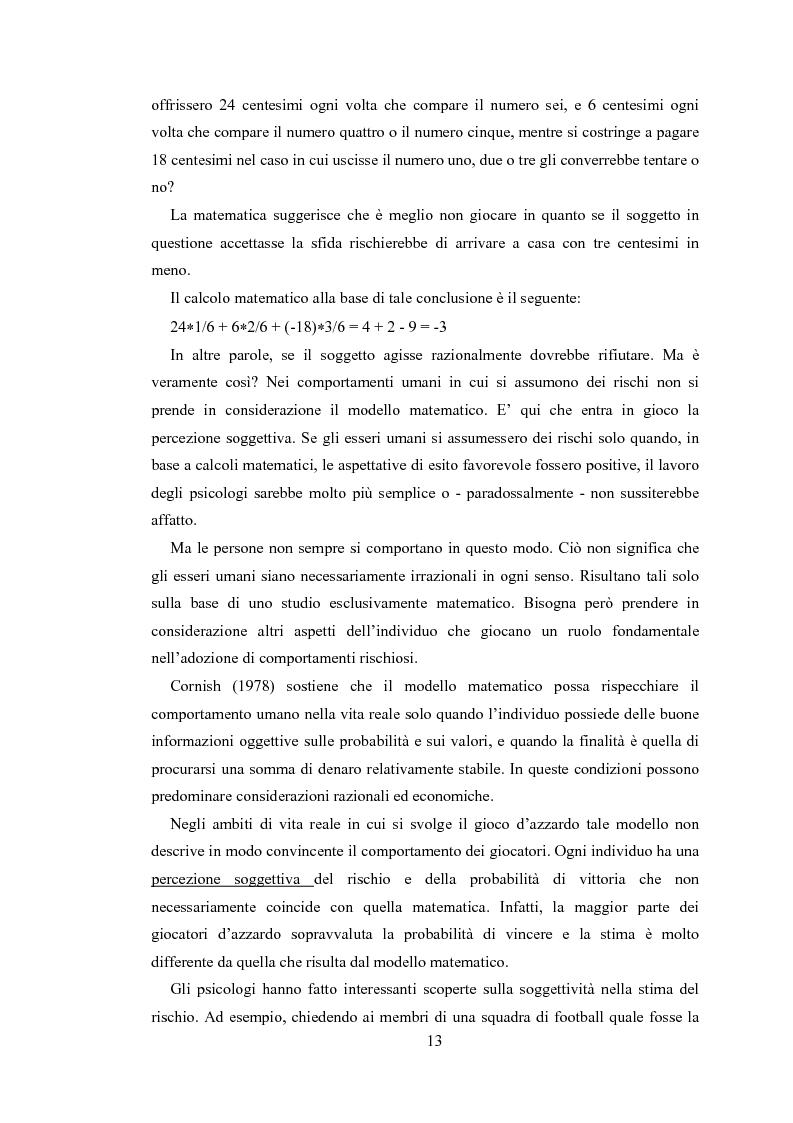 Anteprima della tesi: Gli sport estremi. Analisi teorica ed empirica del comportamento del consumatore, Pagina 11