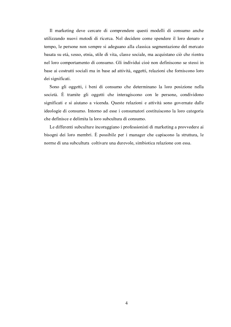 Anteprima della tesi: Gli sport estremi. Analisi teorica ed empirica del comportamento del consumatore, Pagina 2