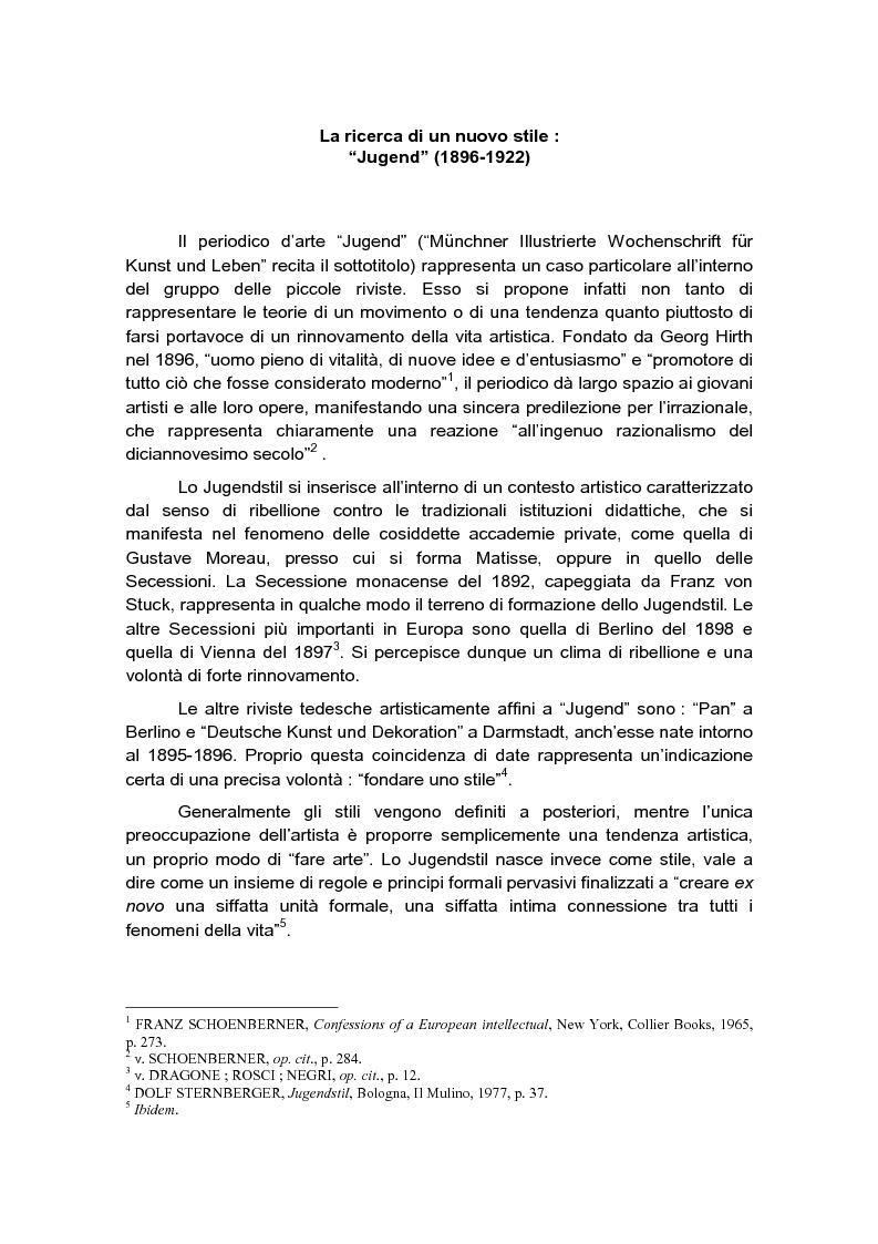 Anteprima della tesi: Tra arte e graphic design, Pagina 1