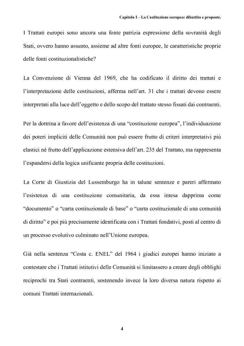 Anteprima della tesi: Il futuro dell'Europa: dalla riforma della governance alla Costituzione europea, Pagina 8