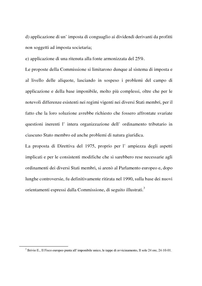 Anteprima della tesi: L'armonizzazione fiscale europea, Pagina 12