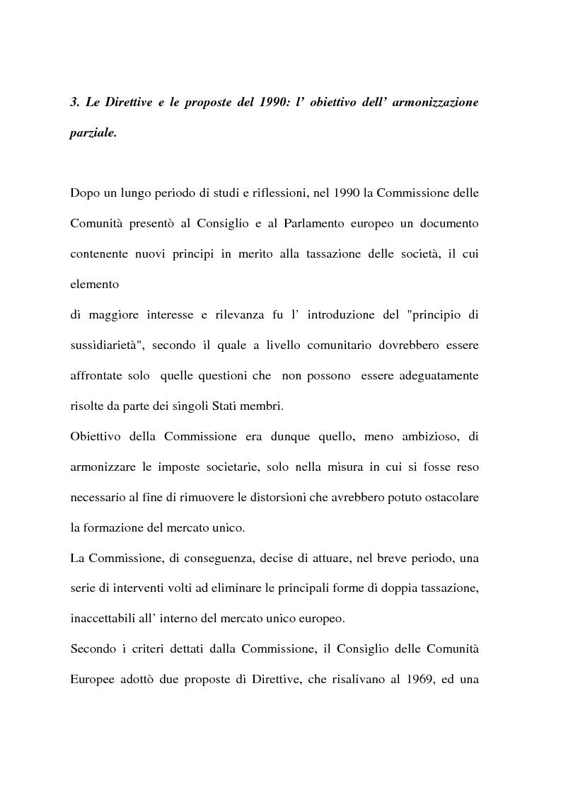 Anteprima della tesi: L'armonizzazione fiscale europea, Pagina 13