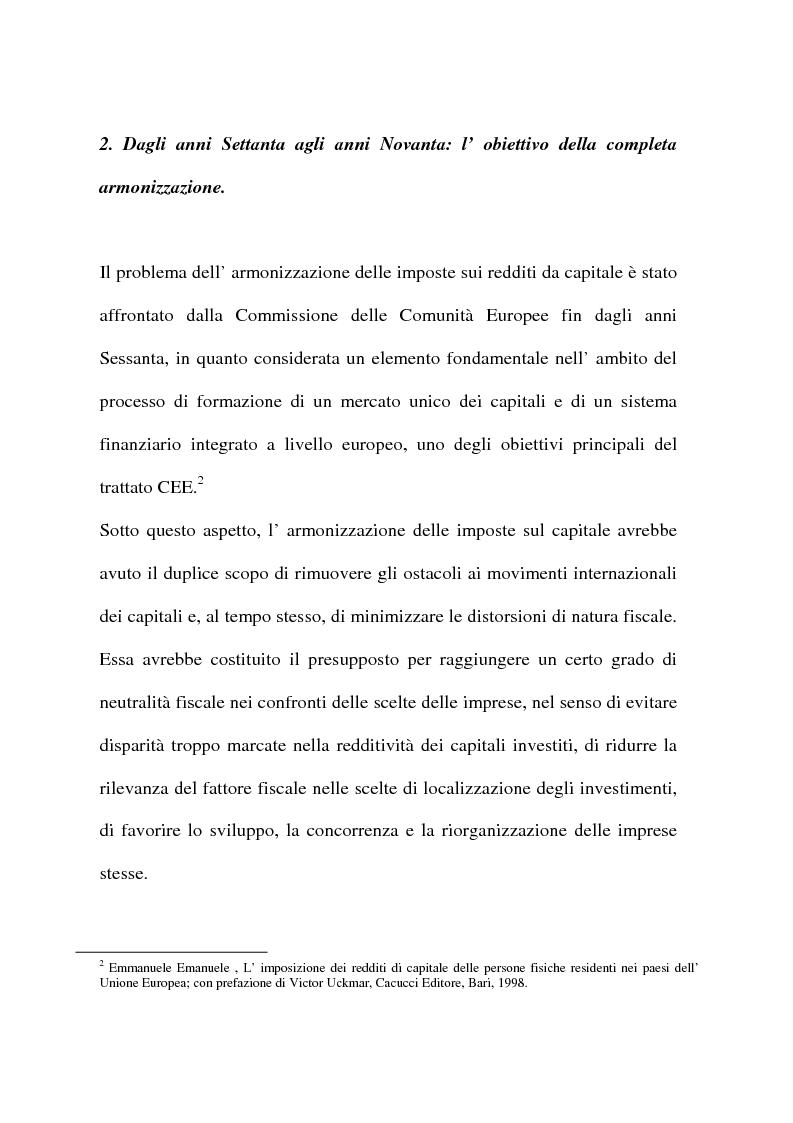 Anteprima della tesi: L'armonizzazione fiscale europea, Pagina 9