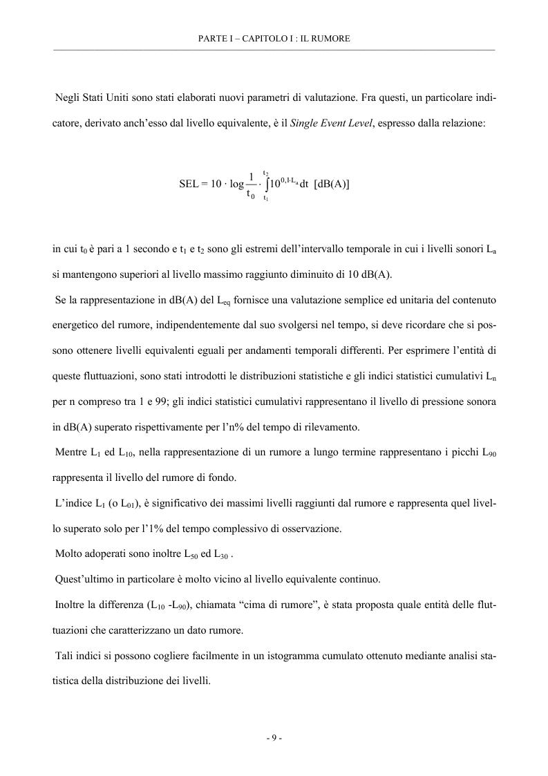 Anteprima della tesi: Analisi del rumore e delle vibrazioni per varie tipologie di materiale rotabile, Pagina 11