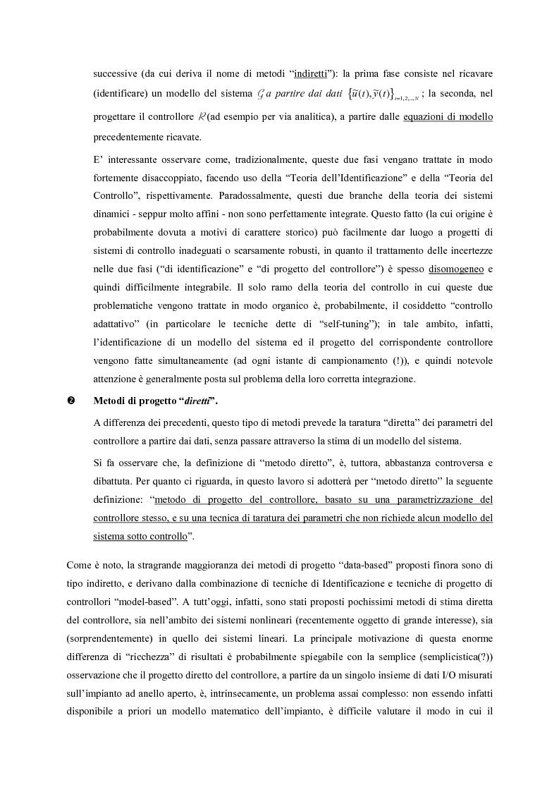 Anteprima della tesi: Identificazione e controllo non-lineare mediante tecniche di tipo parametrico, Pagina 11