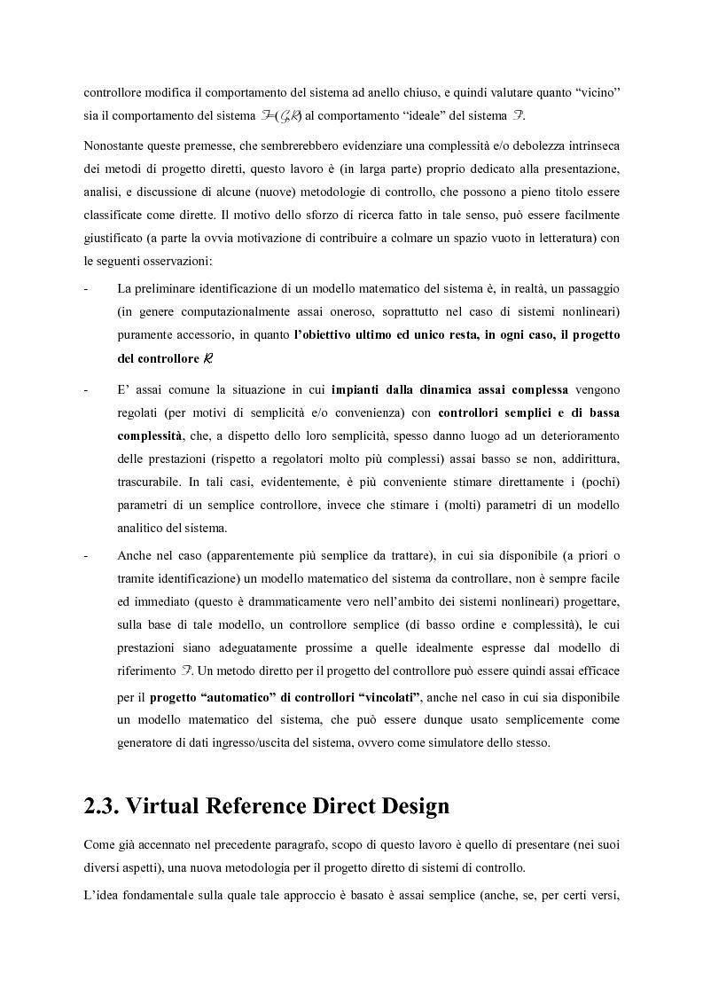 Anteprima della tesi: Identificazione e controllo non-lineare mediante tecniche di tipo parametrico, Pagina 12