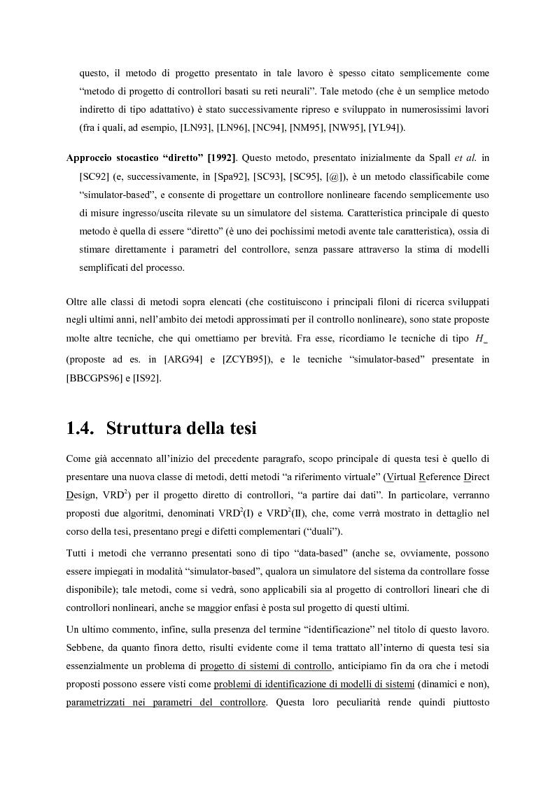 Anteprima della tesi: Identificazione e controllo non-lineare mediante tecniche di tipo parametrico, Pagina 6