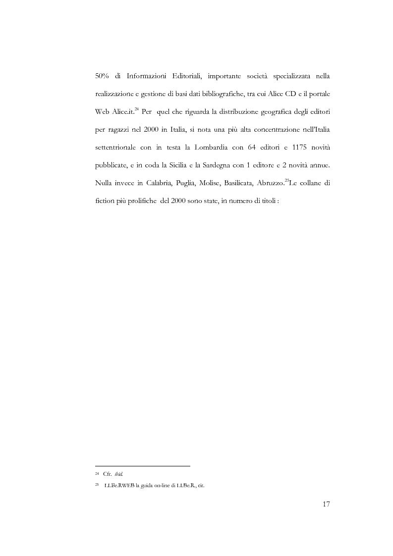 Anteprima della tesi: Il libro per l'infanzia. Editori, lettori, esperienze siciliane, Pagina 15
