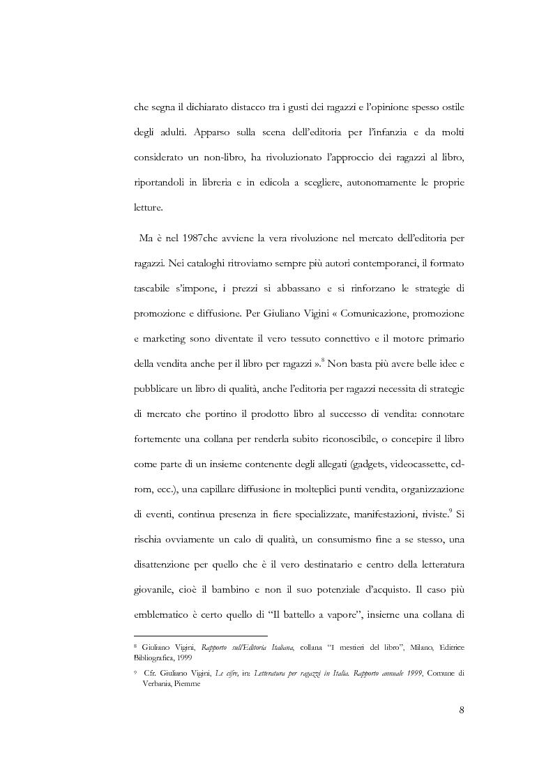 Anteprima della tesi: Il libro per l'infanzia. Editori, lettori, esperienze siciliane, Pagina 6