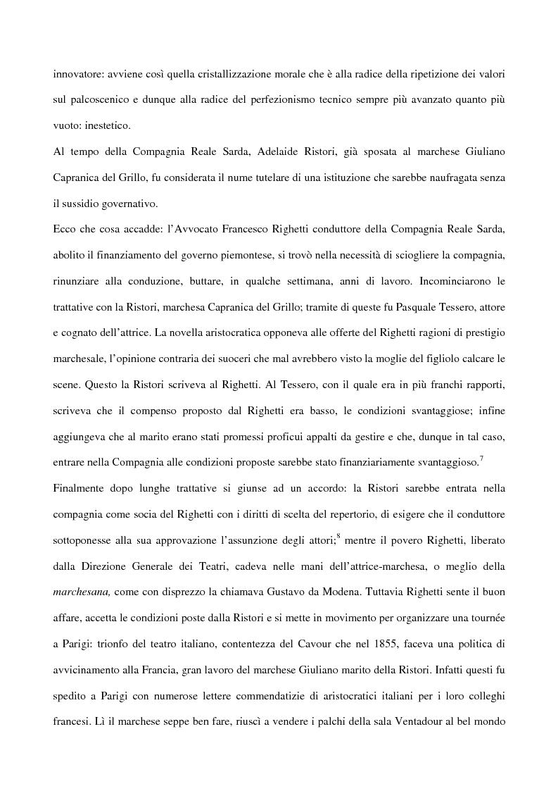 Anteprima della tesi: Maria Antonietta di Paolo Giacometti. Storia di una drammaturgia, Pagina 10