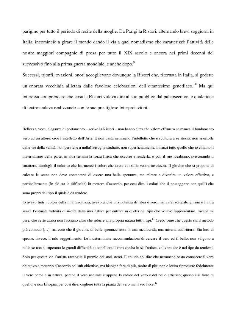 Anteprima della tesi: Maria Antonietta di Paolo Giacometti. Storia di una drammaturgia, Pagina 11