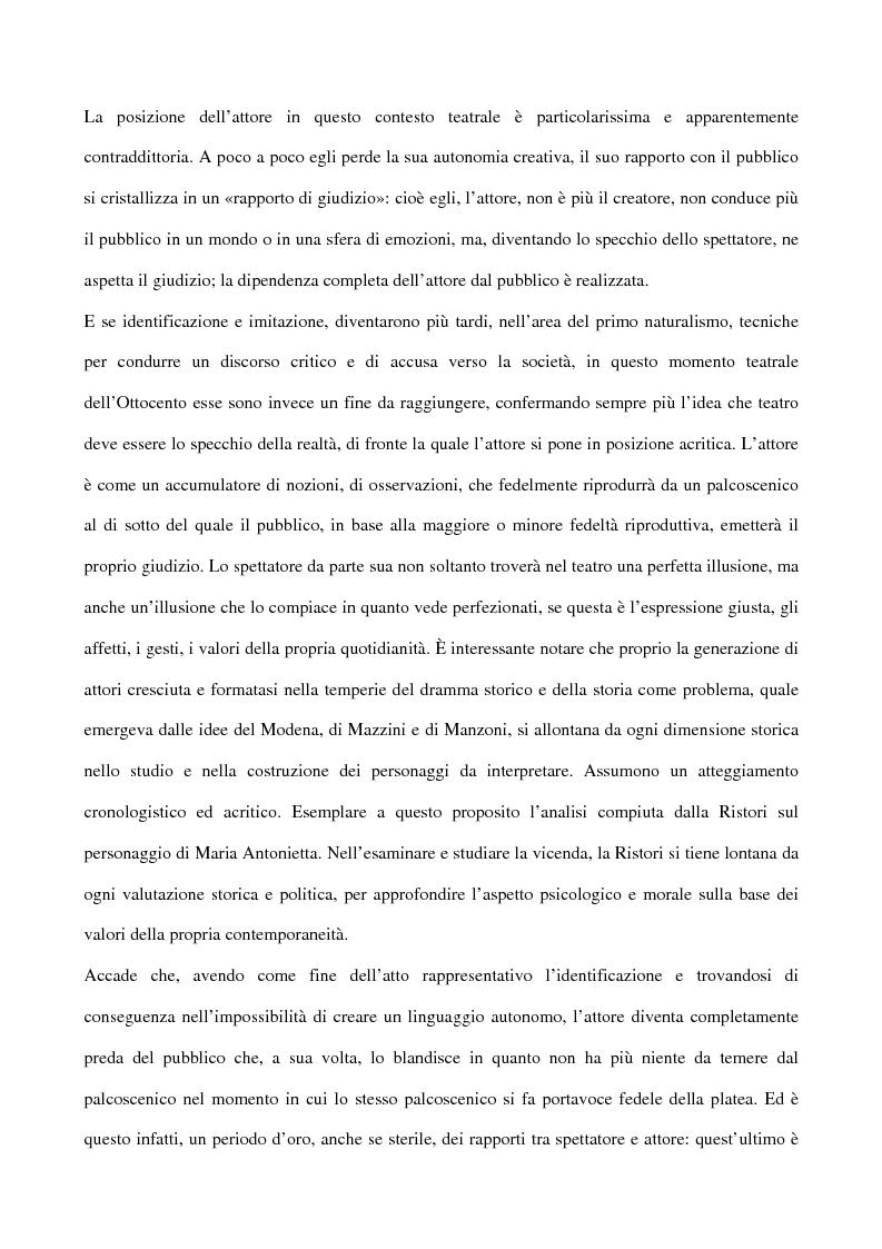 Anteprima della tesi: Maria Antonietta di Paolo Giacometti. Storia di una drammaturgia, Pagina 14
