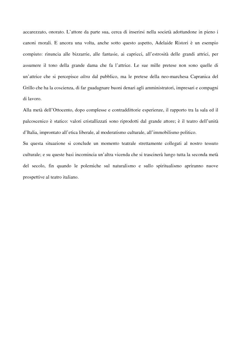 Anteprima della tesi: Maria Antonietta di Paolo Giacometti. Storia di una drammaturgia, Pagina 15