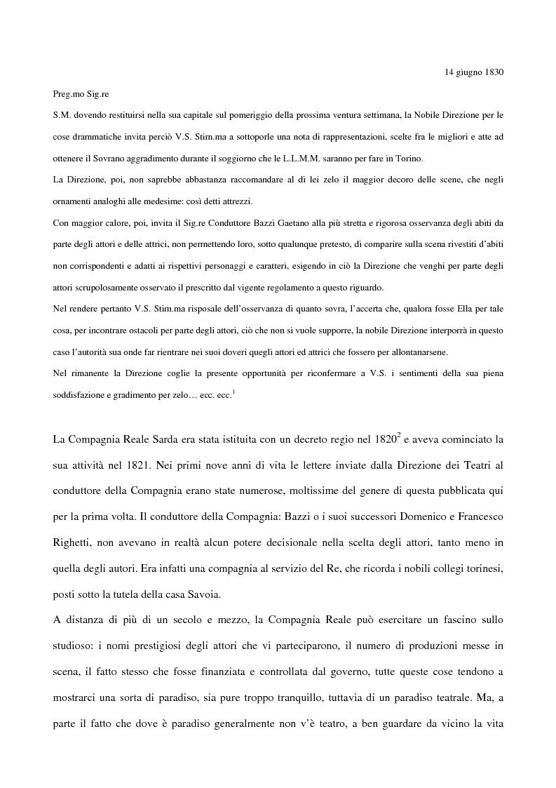 Anteprima della tesi: Maria Antonietta di Paolo Giacometti. Storia di una drammaturgia, Pagina 3