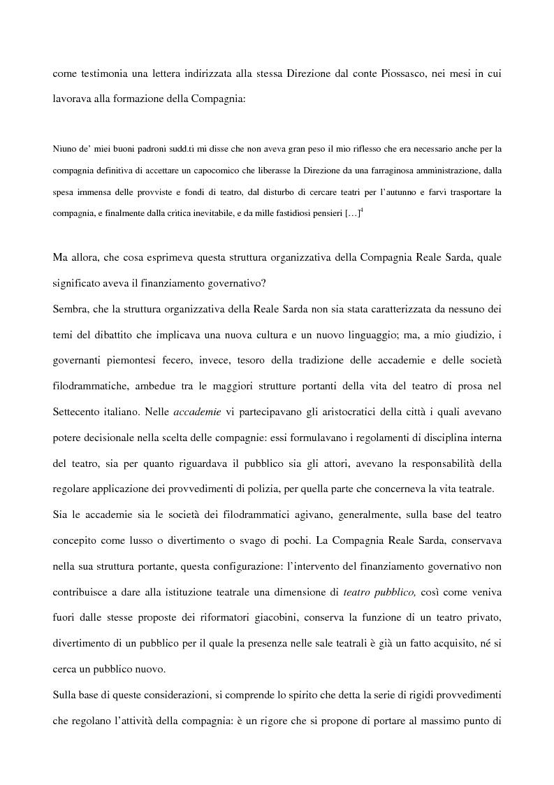 Anteprima della tesi: Maria Antonietta di Paolo Giacometti. Storia di una drammaturgia, Pagina 7