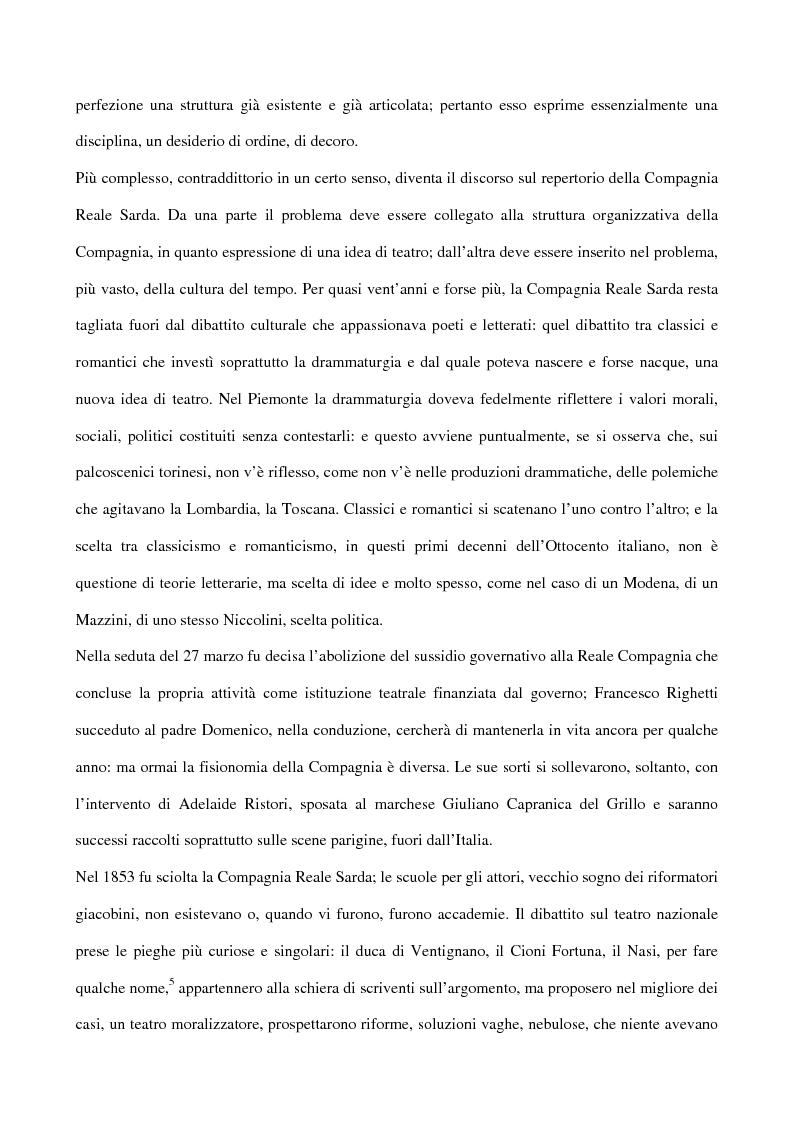 Anteprima della tesi: Maria Antonietta di Paolo Giacometti. Storia di una drammaturgia, Pagina 8