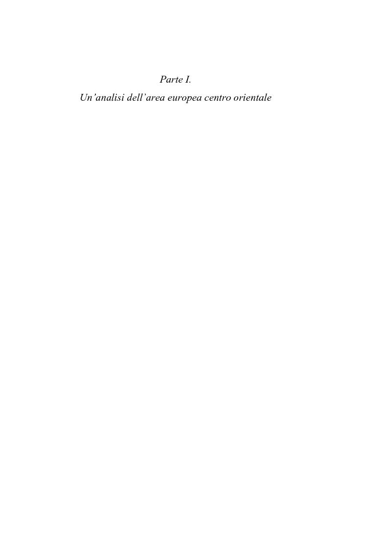 Anteprima della tesi: Le economie di transizione nel passaggio da piano a mercato: il caso della Romania, Pagina 4